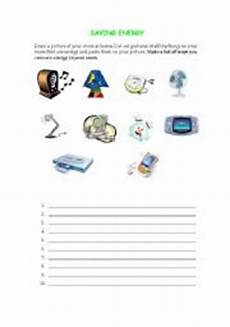 saving energy worksheet english worksheets saving energy