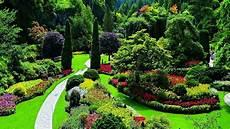 4k hdr video beautiful flower garden in canada the butchart gardens youtube