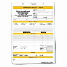 ordre de réparation garage ordre de r 233 paration facture mc581