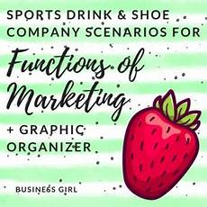sports marketing activity worksheets 15750 functions of marketing sports drink and shoe business scenarios marketing lesson plans