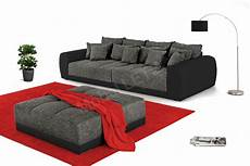 big sofa sam jockenh 246 fer big sofa samy in grau schwarz m 246 bel letz
