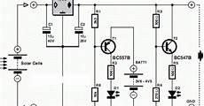 wiring panel simple solar cell voltage regulator circuit diagram