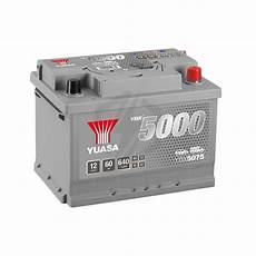Batterie Yuasa Silver Ybx5075 12v 60ah 640a Hautes