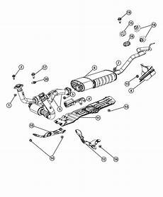 header jeep grand v8 engine diagram jeep grand shield exhaust heat muffler 55394460ab factory chrysler parts