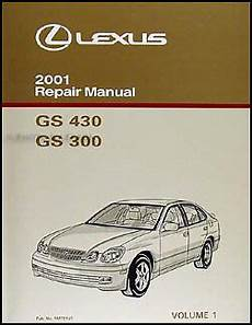 free service manuals online 2001 lexus gs electronic valve timing 2001 lexus gs 300 430 repair manual vol 1 gs300 gs430 original oem shop service ebay