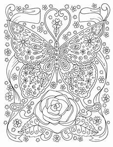 butterfly coloring page coloring book digital coloring