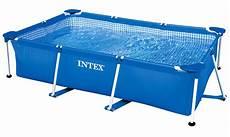 intex family swimming pool frame 260x160x65cm