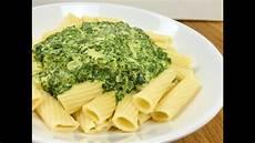 nudeln mit käse schnelle nudeln mit spinat k 228 se sauce pasta mit