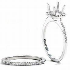 3 8ct vs1 diamond engagement white gold ring