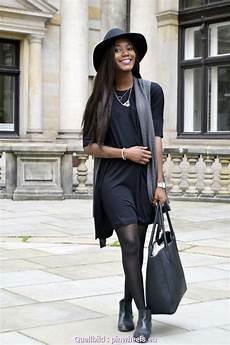 Interessant Schwarzes Kleid Kombinieren Schwarzes