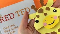 Easy Giraffe Bookmark Corner Diy Paper Diys