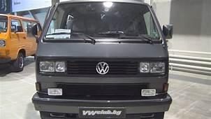 Volkswagen Transporter T3 Caravelle Carat 1989 Exterior
