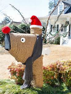 Decorations For Mailbox by Give Your Mailbox A Festive Makeover Hgtv