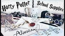 Diy Harry Potter School Supplies Organisation Ideas 10