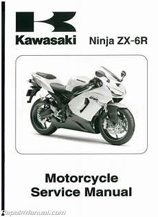 2006 Kawasaki Zx6r Parts kawasaki zx6r motorcycle service manual 2005 2006