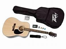peavey acoustic peavey rockmaster acoustic guitar pack includes guitar digital tuner gig bag picks