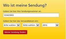 deutsche post wo befindet sich meine sendung dhl