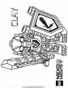 disegno lego nexo knights 24 personaggio cartone animato
