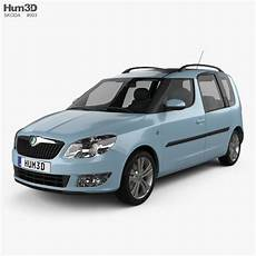 skoda roomster 2011 3d model vehicles on hum3d