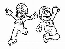 mario bros coloring pages bestappsforkids