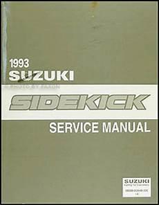 car service manuals pdf 1995 suzuki sidekick auto manual 1993 suzuki sidekick repair shop manual original