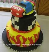 Rainbow Race Car Cake  Decorating Inspirations