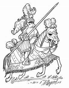 Malvorlagen Ritter Hund Malvorlagen Ritter Auf Einem Turnier