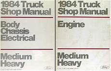 best auto repair manual 1984 ford f250 user handbook 1984 ford f b c 600 8000 medium heavy truck repair shop manual set original