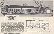1950s ranch house plans vintage house plans mid century homes 1950s homes