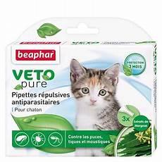 produit anti puce chaton pipettes r 233 pulsives anti puces anti tiques pour chaton
