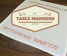 diy table manners napkins blissfully domestic