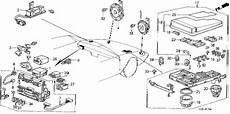 1988 honda fuse box diagram honda store 1988 accord fuse box relay horn parts