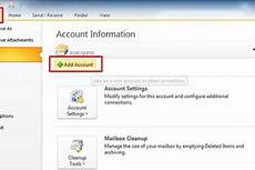 how to setup 1and1 email account in outlook 2010 web