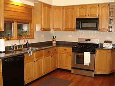 kitchen backsplash with oak cabinets and stainless appliances wow blog