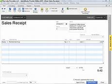 Quickbooks Receipt Printer Template by Quickbooks Desktop Recording A Sales Receipt Blackrock