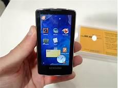 Samsung Pr 233 Pare Une Gamme De Lecteurs Mp3 Sous Android