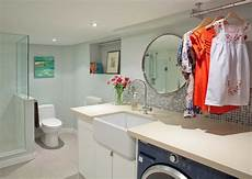 Bathroom With Laundry Room Ideas High Park Residence Contemporary Laundry Room