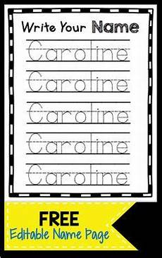 handwriting worksheets write your name 21635 editable name tracing sheet handwriting practice learning and children s