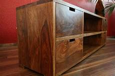 Tv Möbel Holz - sideboard tv hifi schrank holz massiv sheesham