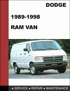 manual repair free 1995 dodge ram van 2500 engine control dodge ram van 1989 1998 factory service workshop repair manual tradebit