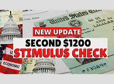 update for second stimulus