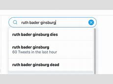 judge ruth ginsburg died