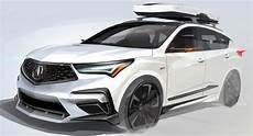 acura previews sporty rdx for sema will be joined by three nsxs carscoops