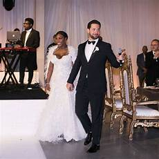 clarkson hochzeit serena williams wore a second wedding dress that you need
