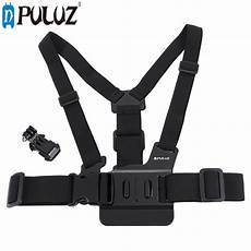 Puluz Adjustable Chest Belt by Puluz Adjustable Mount Belt Chest For Gopro Sjcam