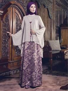 Contoh Model Baju Gamis Muslim Pesta Terbuat Dari Kain