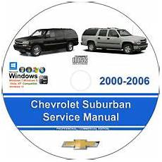 car repair manuals online pdf 2006 chevrolet suburban 2500 lane departure warning car truck service repair manuals for sale ebay