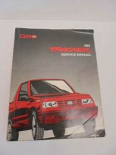 buy car manuals 1993 geo storm transmission control 1993 geo tracker shop manual 93 chevy oem original lsi repair service book ebay