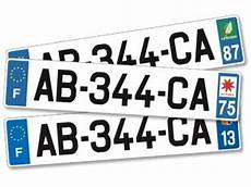 Homologation Des Plaques D Immatriculation Les Normes 224