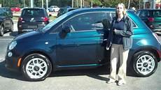 2015 Blue Green Fiat 500 Pop